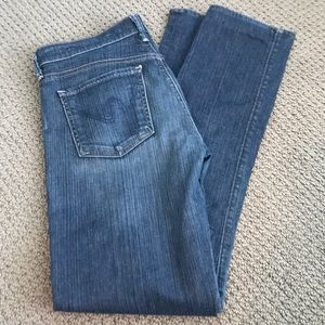 🌿Citizens of Humanity Medium Rise Straight Jeans